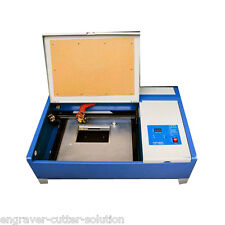 40W 220V CO2 Laser Stamp Engraving Cutting Machine, Laser Cutter 300mm x 200mm