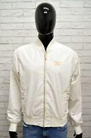 Giubbino Uomo WRANGLER Taglia Size XL Giubbotto Bianco Giacca Jacket Man White