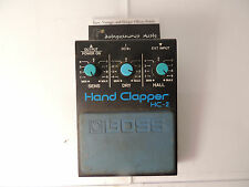 VINTAGE BOSS HC-2 HAND CLAPPER ANALOG PERCUSSION DRUM PEDAL RARE FREE US SHIP
