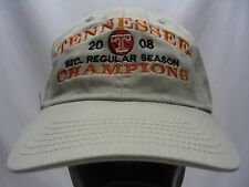 TENNESSEE VOLUNTEERS - NCAA/FBS/SEC - 2008 CHAMPIONS - ADJUSTABLE BALL CAP HAT!