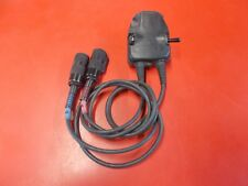 3M PELTOR FL5701 DUAL PTT MBITR SWITCH ADAPTER CABLES 6-PIN HEADSET PRC RADIO c3