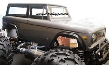 1973 Ford Bronco Custom Painted 1/8 RC Monster Truck Body for RC Crawlers