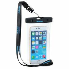 MPOW Waterproof Underwater Cell Phone Pouch Bag Case Cover For iPhone Samsung