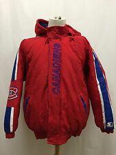 Vintage Montreal Canadiens NHL Insulated Starter Jacket Size Medium