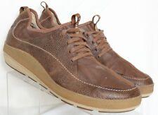 Tsubo Xamba Chestnut Brown Casual Sneaker Pebbled Oxford 8199-CHE Men's US 13