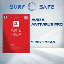 Avira Antivirus Pro 2021 5 DEVICES   1 YEAR WIN, MAC, Multilang, Avira Genuine +