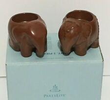 PartyLite  Elephant Votive Tea light Candle Holders