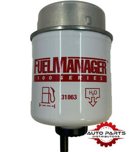 Fuel Manager 31863 Diesel Water Separator Filter Element 30 Micron