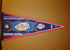 2008 NBA Finals Boston Celtics vs LA Lakers Basketball Pennant