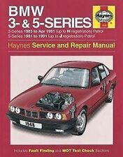 HAYNES BMW 3 & 5 SERIES PETROL SERVING AND REPAIR MANUAL