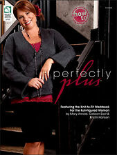Perfectly Plus Size Full Figured Woman Sizes 1X - 5X  Knitting Pattern Book