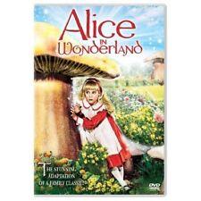 ALICE IN WONDERLAND DVD 1985 TV MINISERIES SAMMY DAVIS JNR 3HRS RARE SEALED! R1