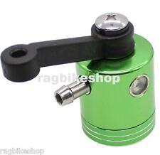 Aluminium Bremsflüssigkeitsbehälter Grün eloxiert Universal brake fluidreservoir