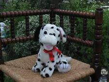 Vintage Dutch Sitting Dalmatian Dog Plush CUTE !