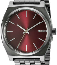 PRE-OWNED $100 Nixon Men's Time Teller Stainless Steel Quartz Watch A0452073