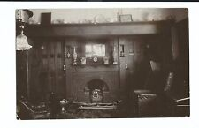 Unidentified Arts & Crafts House Interior, Unposted RP, Fireplace With Chairs
