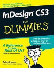 InDesign CS3 For Dummies Gruman, Galen Paperback