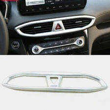 For Hyundai Santa Fe 2019 Matte Dashbaord Middle Air Vent Frame Cover Trim 1pcs
