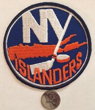 "New York Islanders NHL Logo / Crest Patch 4."" Inch Sew On / Glue On Patches"