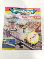 Micro Machines DADDY'S DRAG STRIP & METRO TOWER HOTEL 2 FOR 1 Lot Galoob Sealed