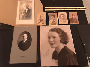 Victorian And Vintage Photographs Lot Of 7