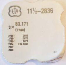 ETA CAL. 2836 u. a.  DATUMSANZEIGER FEDERCLIP PART No. 2780   ~NOS~