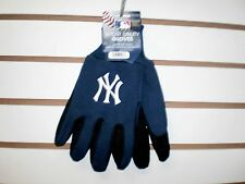 BRAND NEW ADULT MLB NEW YORK YANKEES  EMBROIDERED TEAM WORK SPORT UTILITY GLOVES