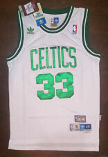 Verde Larry Bird # 33 Chaleco Sin Mangas Camiseta De Baloncesto Jersey Casa Boston Celtics 1985-86 Temporada Cl/ásicos Swingman Jersey Deportes Concurso Trajes