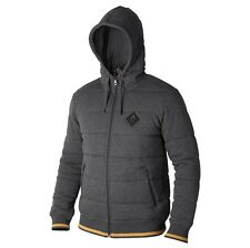 Nixon Winter PUFF FULL ZIP HOODIE Black Heather Gold X-Large (XL)