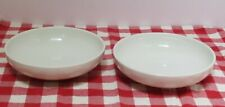 Vintage Russel Wright Iroquois White Casual China Serving Bowls, 2