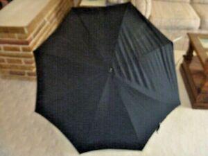 vintage short ladies black parasol Steampunk parasol Gothic parasol, Antique Victorian black Paragon by S Fox and Co parasol