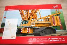 Herpa 307673 - 1/87 F-Spitze Für Liebherr Raupenkran Lr 1600/2 - Gelb - Neu