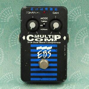 EBS MULTICOMP True Dual Band Compressor Bass Guitar Effect Pedal 4506
