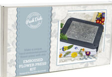Peak dale craft Metal Embossing Kit - Flower Press