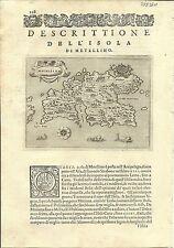 Antique maps, Metellino [Porcacchi, 1576]