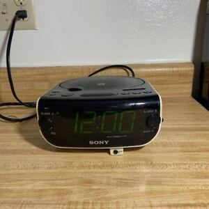 Sony ICF-CD815 Dream Machine AM/FM/CD/AUX Digital Clock Radio / Tested