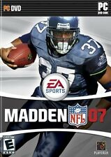 Madden 07 PC Games Windows 10 8 7 XP Computer nfl 2007 football john madden