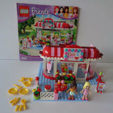 """LEGO Friends Set #3061 """"City Park Cafe"""" - complete with instructions"""