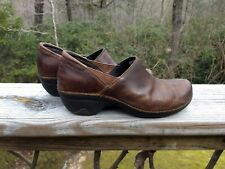 Patagonia Better Clogs Leather Shoes Deep Espresso Brown Size US10.5 EUR41.5