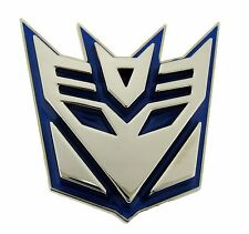 Us American Superhero Belt Buckle Transformers Blue Metal Unisex Youth Hasbro