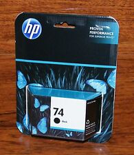 Genuine HP 74 (CB335WN) Black Ink Cartridge *Sealed in Box* EXPIRED