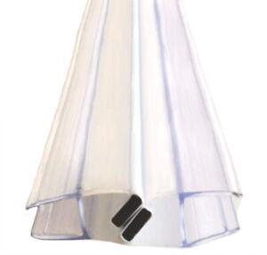 Magnetdichtung DD-772 180cm Magnetleiste Dichtung Schwallschutz Duschwand Dusche