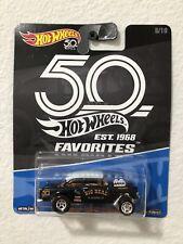 Hot Wheels 50th Anniversary Favorites, Black '55 Chevy Bel Air Gasser, Kroger