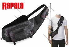 Rapala Fishing Urban Sling Bag, RUSB, 40cmx28cmx14cm, Color; Digi-camo/Black