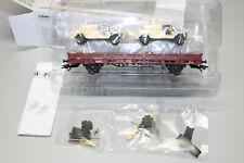 Märklin 4Mfor 46960 Bahntransportwagen mit Einsatzfahrzeugen Serval Spur H0 OVP