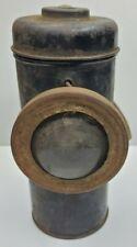 Vtg Railroad Coal Miner Battery Operated Lamp Lantern Light for Parts Repair