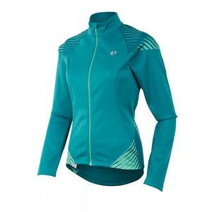 PEARL IZUMI Elite Women's Softshell 180 Jacket Style 11231513 Green LARGE $180