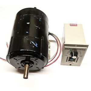 Parvalux 220V dc shunt motor SD12 with AC to DC speed controller