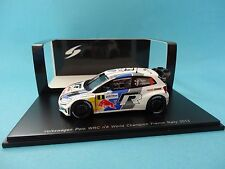 VOLKSWAGEN POLO WRC #8 VW - S.OGIER - 1º RALLY FRANCE 2013 1/43 NEW SPARK S3314