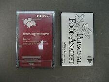 HP F1005A Dictionary Thesaurus PCMCIA card  HP 95LX 100LX 200LX Palmtop + BONUS